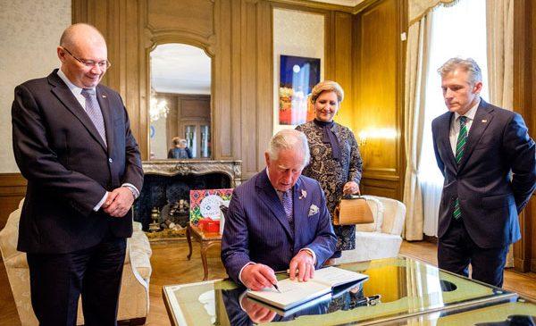 A.S.R. Prințul Charles la Institutul Cultural Român din Londra