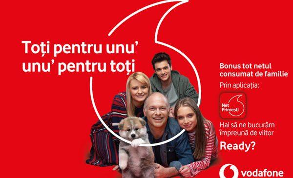 Clienții Vodafone România primesc bonusuri de date în funcție de traficul consumat de orice utilizator de date mobile, indiferent de rețea