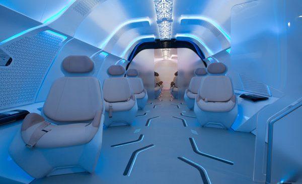 Designworks a colaborat cu Virgin Hyperloop One pentru a crea designul-prototip al capsulei de pasageri pentru Dubai Hyperloop