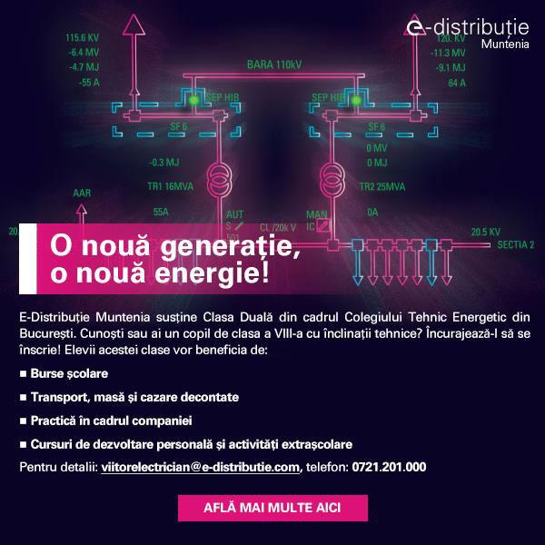 E-Distributie Muntenia, Clasa Duala Viitor Electrician