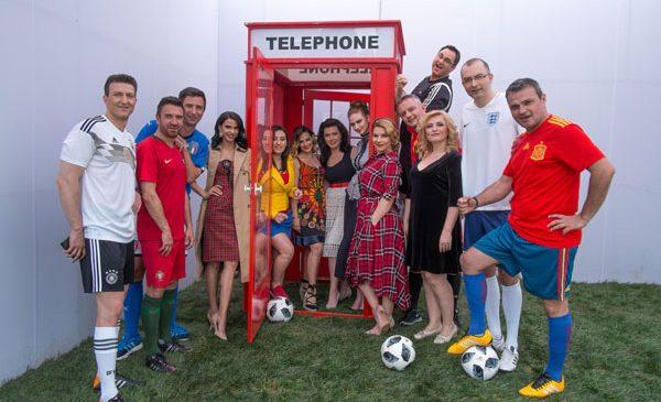 TVR 1 îşi schimbă identitatea vizuală pentru a celebra Campionatul Mondial de Fotbal