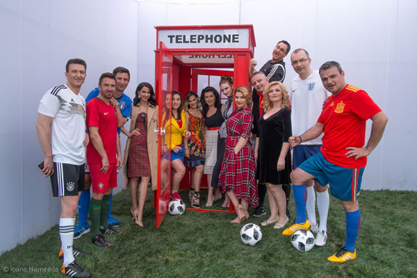 Echipa TVR la filmare tema Anglia
