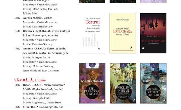 Lansările Editurii Tracus Arte la Bookfest 2018