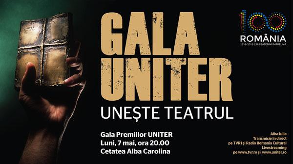 Gala Premiilor Uniter – în direct la TVR