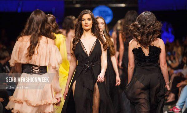 Hashtag-urile, vedete de catwalk la Serbia Fashion Week