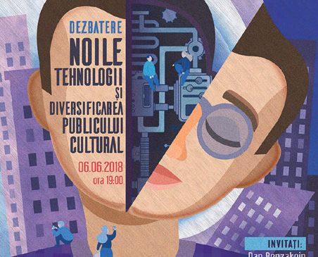 Dezbatere pe tema Noile tehnologii și diversificarea publicului cultural la Sala Teatrelli din București