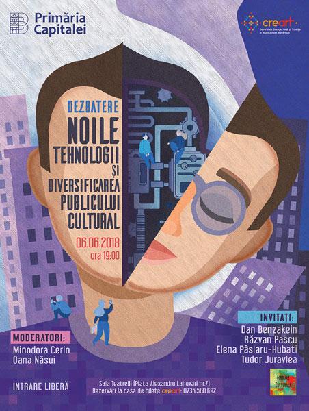 Noile tehnologii si diversificarea publicului cultural afis