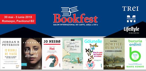 Bilanțul Grupului Editorial Trei la Salonul Internațional de Carte Bookfest 2018