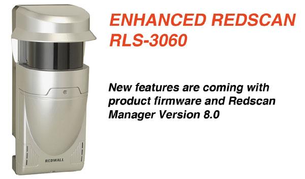 Detecție mai eficientă și configurare flexibilă cu senzorii OPTEX din seria REDSCAN RLS-3060 aflați la versiunea 8