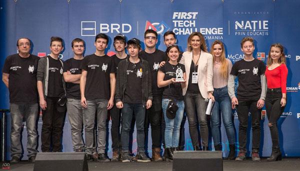 Echipa RobotX Huneadoara va reprezenta Romania la una dintre cele mai prestigioase competitii de robotica din lume – FIRST Global Competition, Mexic 2018