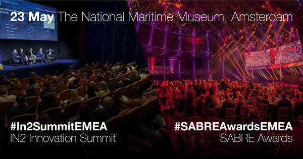 Certificat de excelenta IN2 SABRE Awards si nominalizare la SABRE Awards EMEA pentru Maratonului Olteniei 2017, powered by CEZ Romania