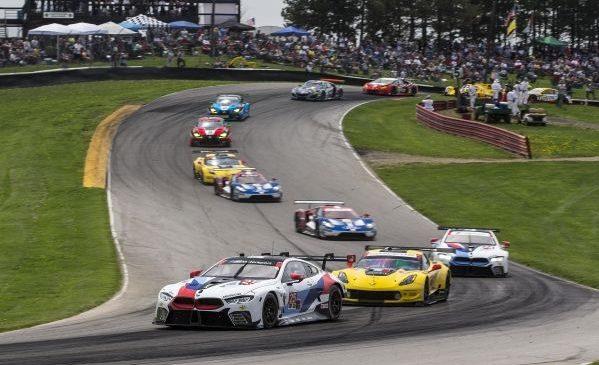 Al doilea podium pentru BMW Team RLL în 2018 – De Phillippi şi Sims au ocupat locul al doilea la Mid-Ohio