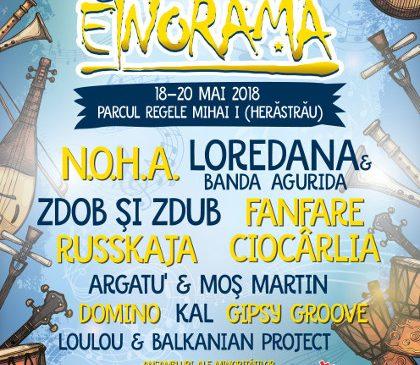 Pe 18 mai începe cea de-a patra ediție a Festivalului etniilor – ETNORAMA!