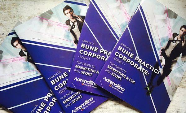 """S-a lansat """"Manualul Bune practici corporate: top proiecte marketing & CSR prin sport"""""""