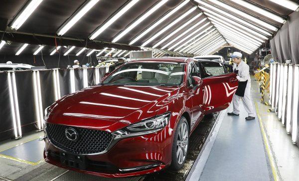 Mazda sărbătorește 50 de milioane de vehicule produse în Japonia