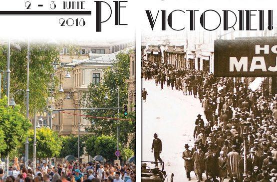 """""""La pas pe Calea Victoriei"""" pe 2 și 3 iunie"""