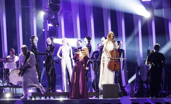 The Humans, premieră la Eurovision: 31 de personaje pe scena concursului