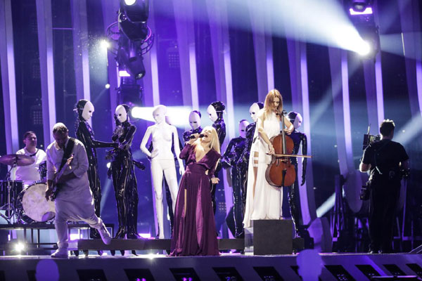 repetitie The Humans la Eurovision