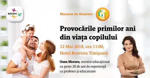 Maratonului de Sănătate Secom® Timișoara