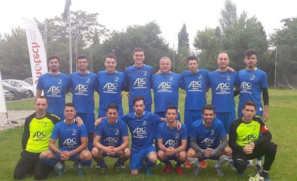 APC – vicecampioană cu echipa de fotbal