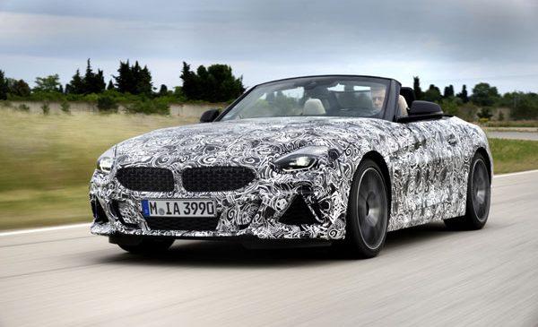 Noul BMW Z4: ultimele pregătiri pentru plăcerea pură a condusului