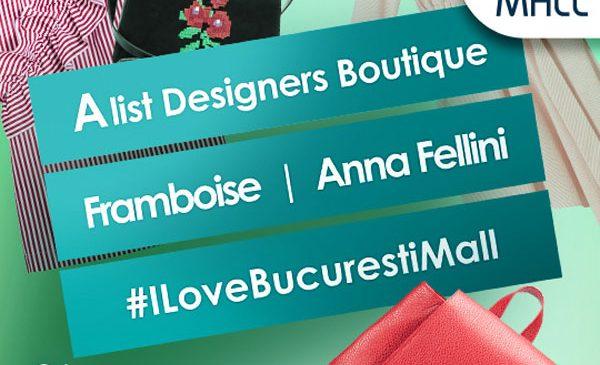 Explozie de culori de vară cu Framboise și Anna Fellini la Designers Boutique din București Mall