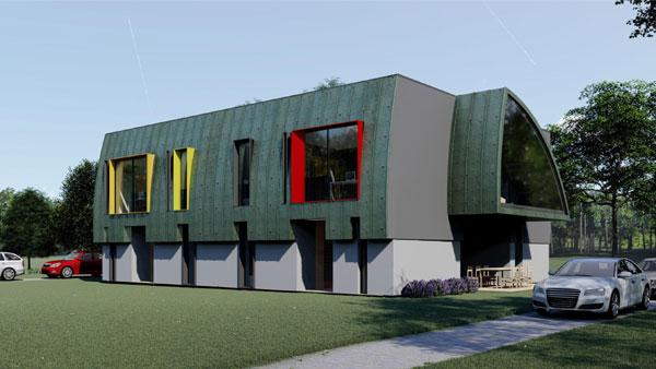Trei proiecte noi de arhitectură vor prinde viață în Dumbrava Vlăsiei