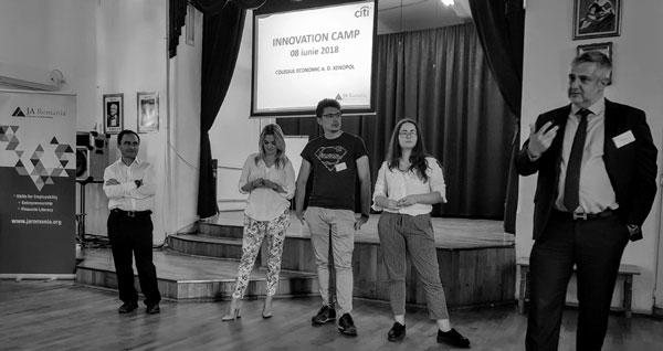 Parteneriatul JA România – Citi Foundation dezvoltă competențele antreprenoriale ale elevilor de liceu din România