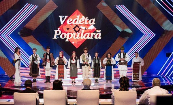 """Cântece de nuntă şi din folclorul minorităţilor, în semifinala """"Vedeta populară"""" de la TVR 1"""
