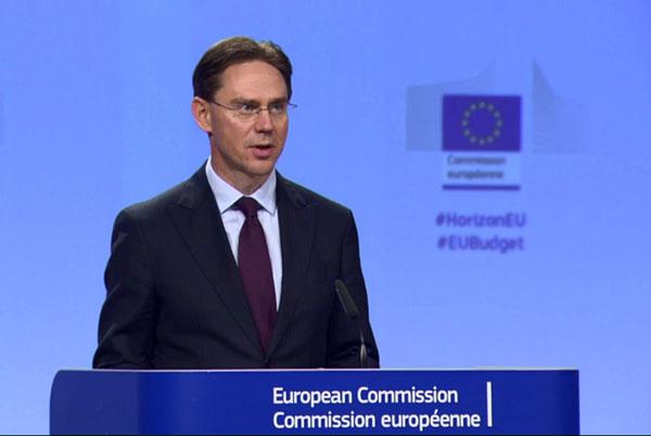 Jyrki Katainen 2018 buget UE