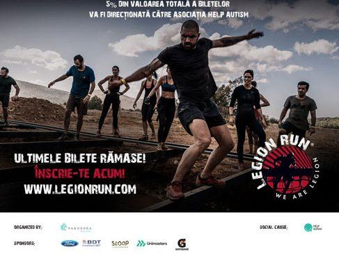 Ultimele bilete la Legion Run
