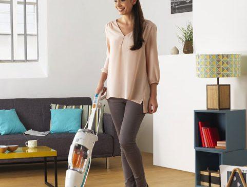 Time to party? Time to clean? Rowenta Clean & Steam te ajută să termini curățenia la timp