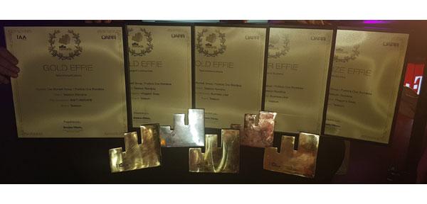 Effie 2018: Telekom Romania a câştigat cinci premii Effie, plus Clientul Anului și Brandul Anului