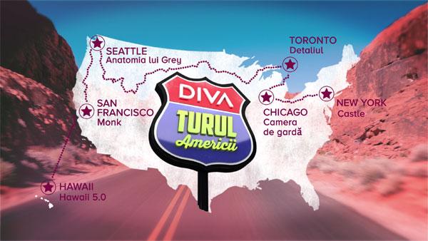 Pregătește bagajele pentru 6 săptămâni de vacanță pentru că începe Turul Americii cu DIVA