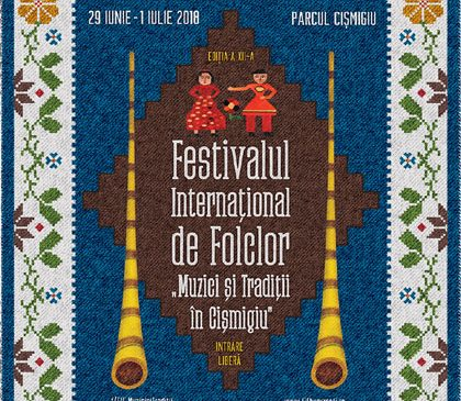 Începe cea de-a XII-a ediție a Festivalului Internațional de Folclor în Parcul Cișmigiu