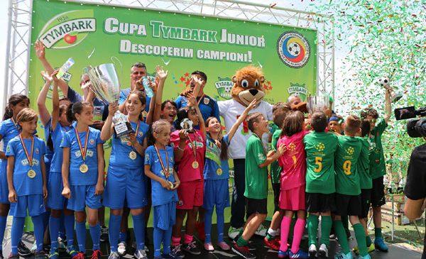 O nouă ediție a Cupei Tymbark Junior a ajuns la final