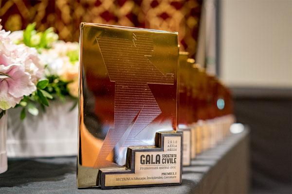 premiu Gala Societatii Civile 2018