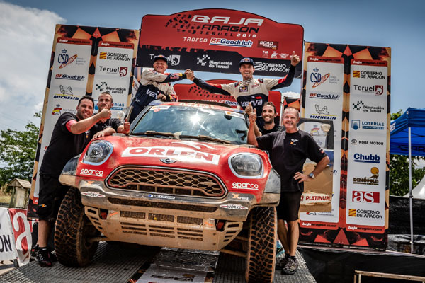 2018 Baja Aragon, Jakub Przygonski (POL), Tom Colsoul (BEL), MINI John Cooper Works Rally, Orlen Team,