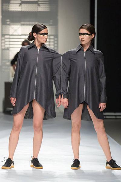 Adriana Goilav & ECCO la Feeric Fashion Week Sibiu