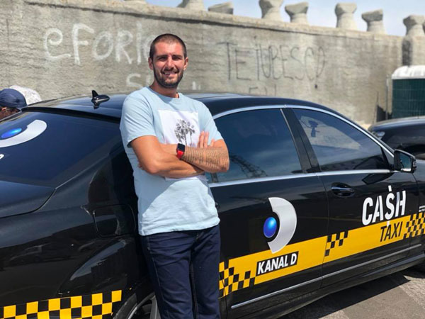 Catalin Cazacu, Cash Taxi