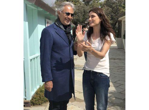 Catrinel Marlon a fost numită ambasadoarea Fudației Andrea Bocelli