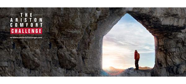 Ariston lansează Comfort Challenge, misiunea de a duce confortul acolo unde pare imposibil
