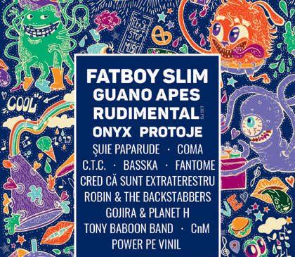 Fatboy Slim, Guano Apes, Protoje, ONYX și mulți alții la Creative Fest 2018