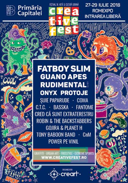 Creative Fest 2018 afis