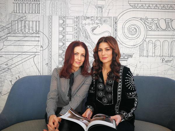 Elena Oancea si Cristina Capitanu