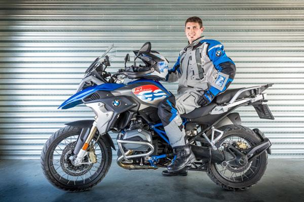 Emanuel Gyenes, BMW Motorrad Adventure Brand Ambassador