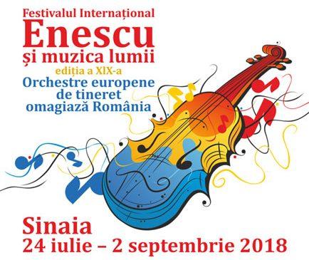"""Cristian Măcelaru și Orchestra Națională Simfonică a României deschid Festivalul Internațional """"Enescu și muzica lumii"""" de la Sinaia"""