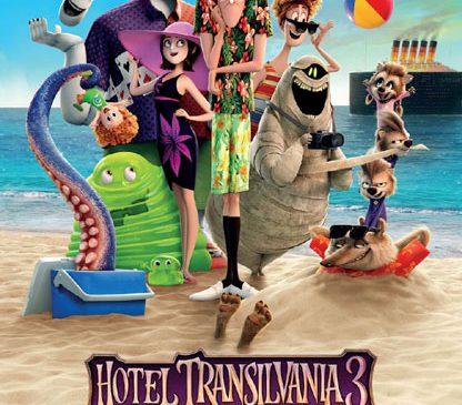 """""""Hotel Transylvania 3"""" - succes monstruos în weekend-ul lansării"""