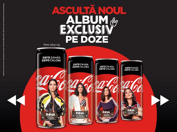 Inovatie muzicala Coca-Cola si INNA