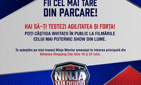 Vrei să faci parte din publicul Ninja Warrior?